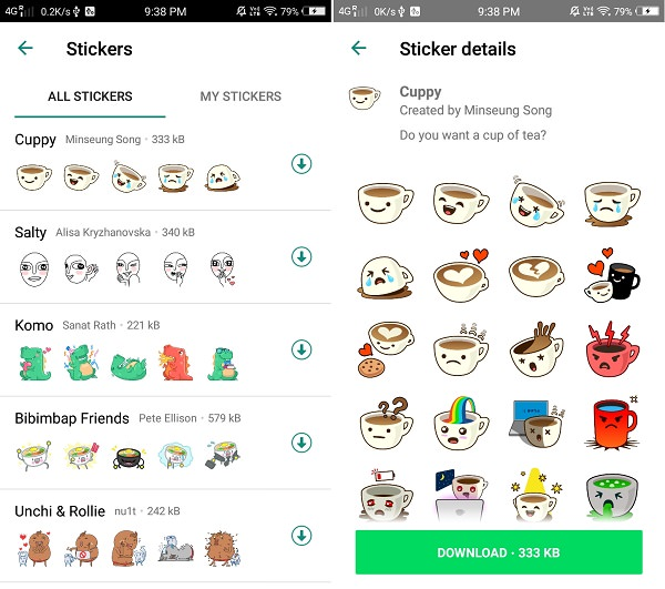 Create WhatsApp Stickers Online Free for Android phone