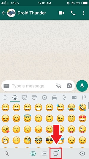 Create WhatsApp Stickers Online Free on Android screenshot 19