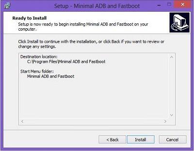 Minimal ADB and Fastboot Setup Wizard 3
