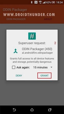 Convert IMG to TAR using Odin Packager App 4