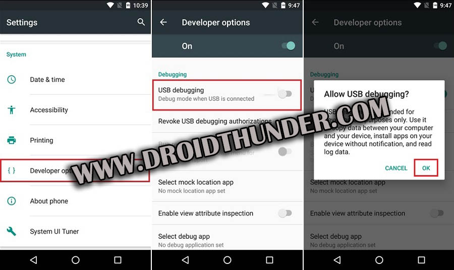 Enable Developer options USB Debugging Mode on Android 6 Marshmallow screenshot 2