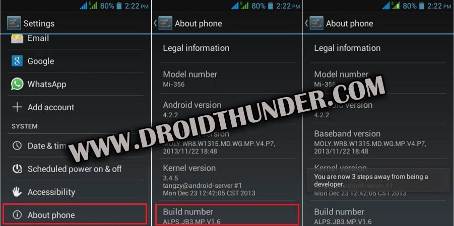 How to Enable USB Debugging Mode on Android 4.2 Jelly Bean screenshot 1