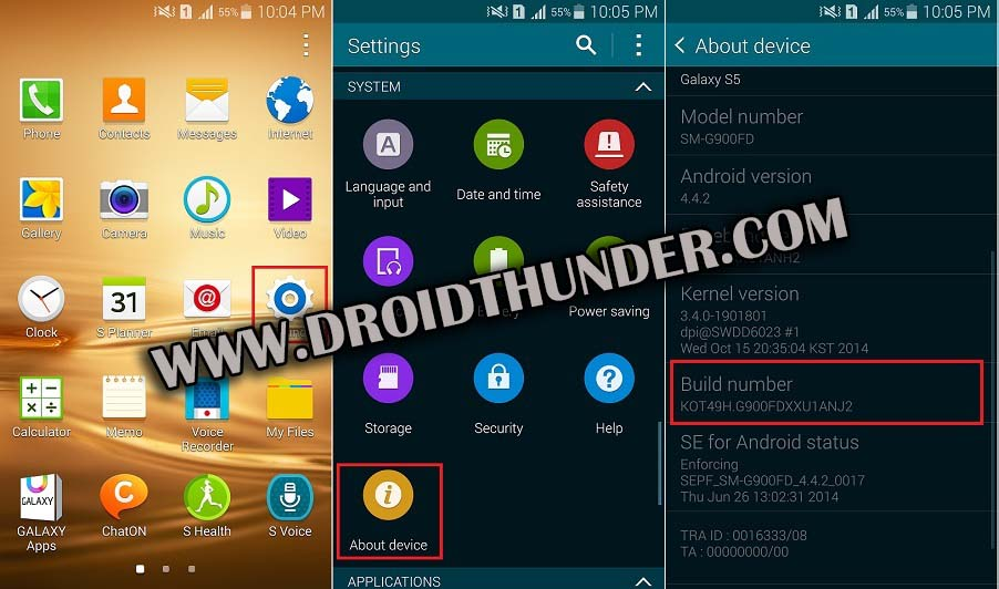 How to Enable USB Debugging Mode on Android 4.4 KitKat screenshot 1