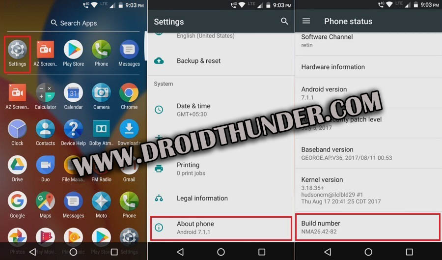 How to Enable USB Debugging Mode on Android 7 Nougat screenshot 1