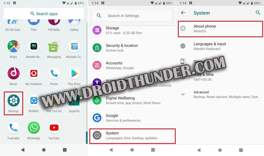 How to Enable USB Debugging Mode on Android 9 Pie screenshot 1