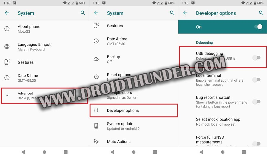 How to Enable USB Debugging Mode on Android 9 Pie screenshot 3
