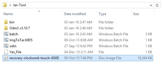 Convert IMG to tar using Script Bat Tool screenshot 2