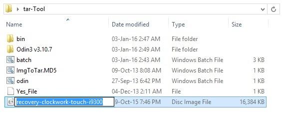 Convert IMG to tar using Script Bat Tool screenshot 3