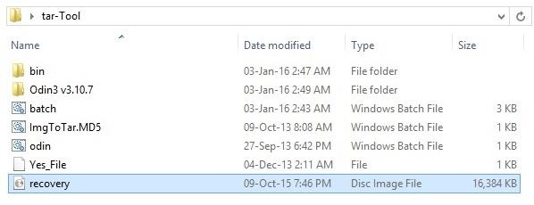 Convert IMG to tar using Script Bat Tool screenshot 4