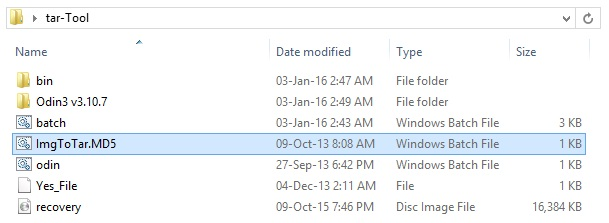Convert IMG to tar using Script Bat Tool screenshot 5