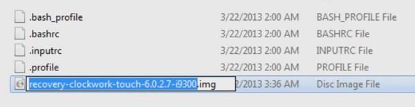 Convert zip to tar.md5 using Cygwin screenshot 3