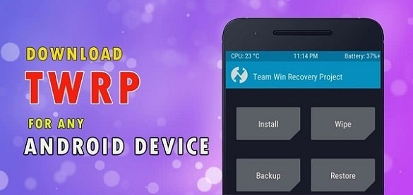 Download TWRP Recovery for Android Phones