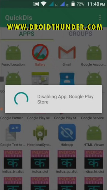 Fix Blocked by Play Protect Error with Root QuickDis app screenshot 13