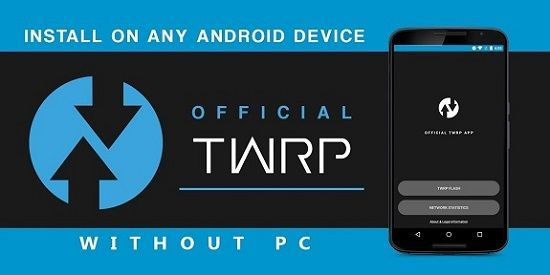 How to Install TWRP without PC and Root