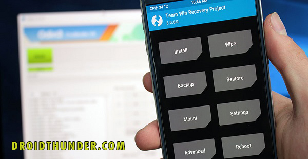 Install TWRP Recovery on Samsung phones