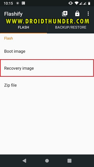 Install TWRP Recovery without PC on Android phone using Flashify app screenshot 16