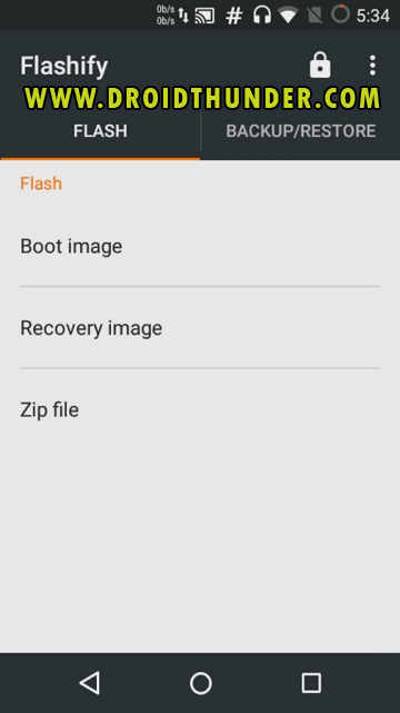Install TWRP Recovery without PC on Android phone using Flashify app screenshot 4