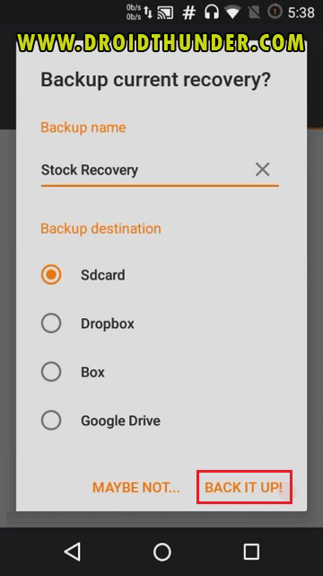 Install TWRP Recovery without PC on Android phone using Flashify app screenshot 6