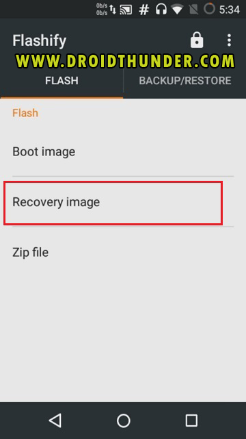 Install TWRP Recovery without PC on Android phone using Flashify app screenshot 9