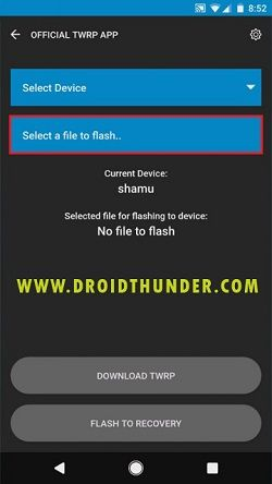 Install TWRP without PC Official TWRP App Flash custom recovery