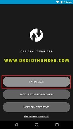 Install TWRP without PC Official TWRP App Recovery