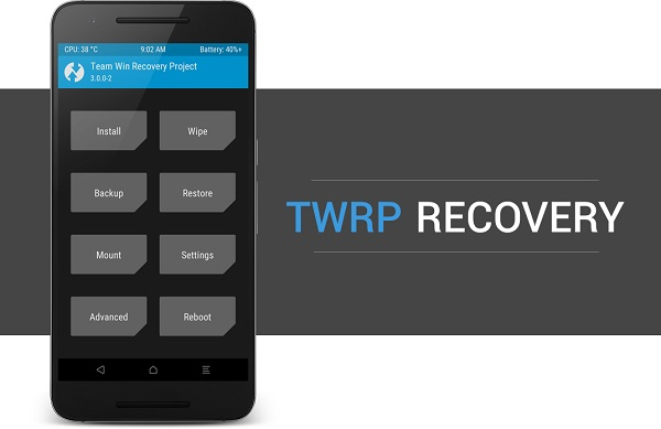 Install TWRP without ROOT and PC