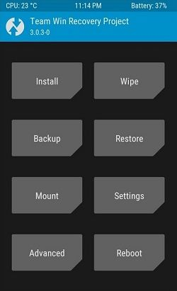 Install TWRP without Root