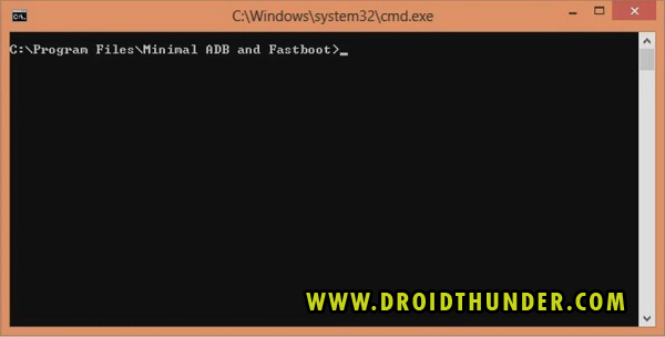 Unlock Bootloader of any Android phone open CMD window ADB and fastboot screenshot 2