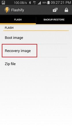Unlock Bootloader without PC on Android using Flashify App 4
