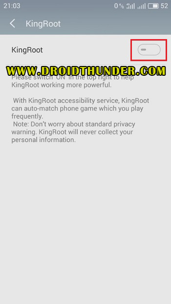 How to Root Vivo V11 Pro using Kingroot Settings Accessibility screenshot 7