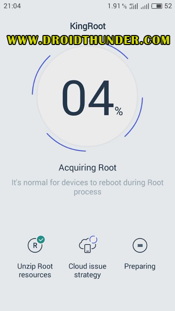 How to Root Vivo V11 Pro using Kingroot acquiring root screenshot 11