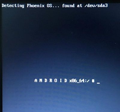Boot Windows into Phoenix OS Dual Boot