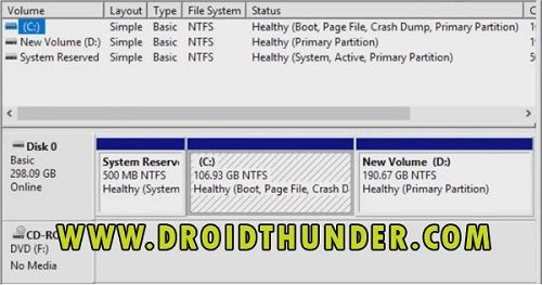 Dual Boot Android and Windows Disk Management 7