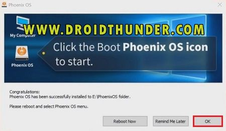 Install Phoenix OS on PC Dual Boot Android and Windows Installer 15