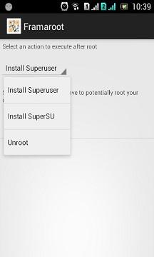 Root Vivo Y91 using Framaroot screenshot 2