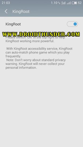 Root Vivo Y91 using KingRoot screenshot 11