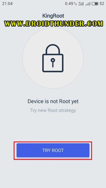 Root Vivo Y91 using KingRoot screenshot 13
