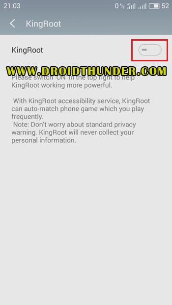 Root Vivo Y91 using KingRoot screenshot 9