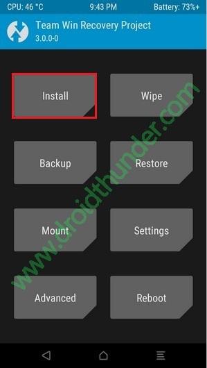 Root Vivo Y91 using SuperSU screenshot 1