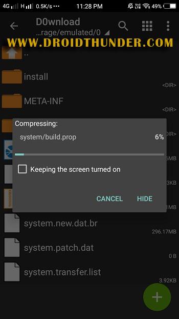 How to fix status 7 error TWRP ZArchiver app rom screenshot 31