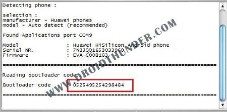 Unlock Bootloader of Huawei DC unlocker bootloader code screenshot 15