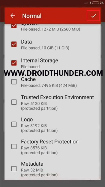 Install Samsung Firmware without Odin Flashfire app backup name screenshot 14