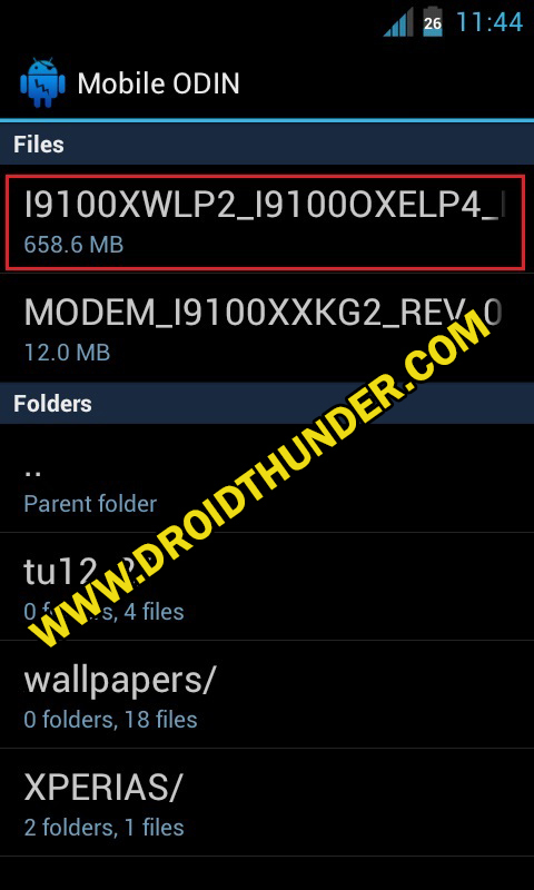 Install Samsung Firmware without PC screenshot 5
