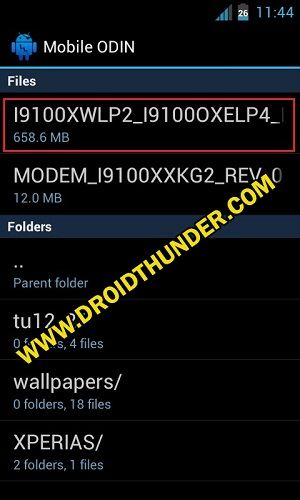 Install Samsung Firmware without PC using Mobile Odin Pro app 5