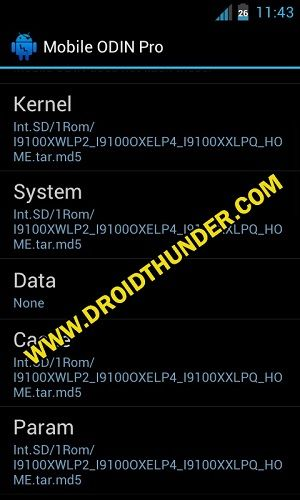 Install Samsung Firmware without PC using Mobile Odin Pro app 7