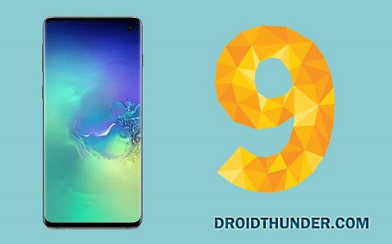 Samsung Galaxy S10+ Android 9 Pie Update
