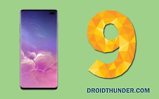 Samsung Galaxy S10 Android 9 Pie Update