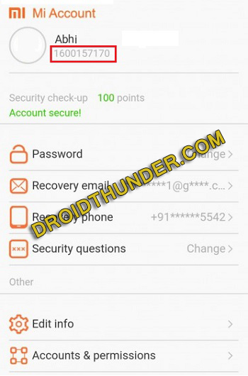 Delete Mi account Permanently without Password screenshot 12