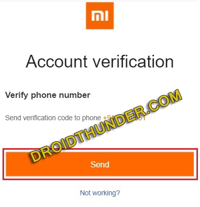 Delete Mi account Permanently without Password screenshot 7