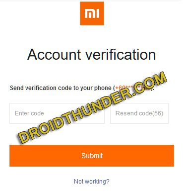 Delete Mi account Permanently without Password screenshot 9